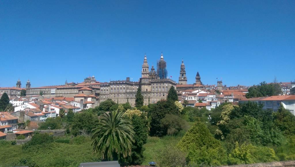 Camino Frances Santiago de Compostela